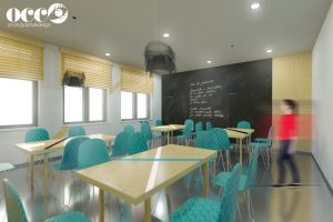 Projekt - Pokój socjalny na piętrze