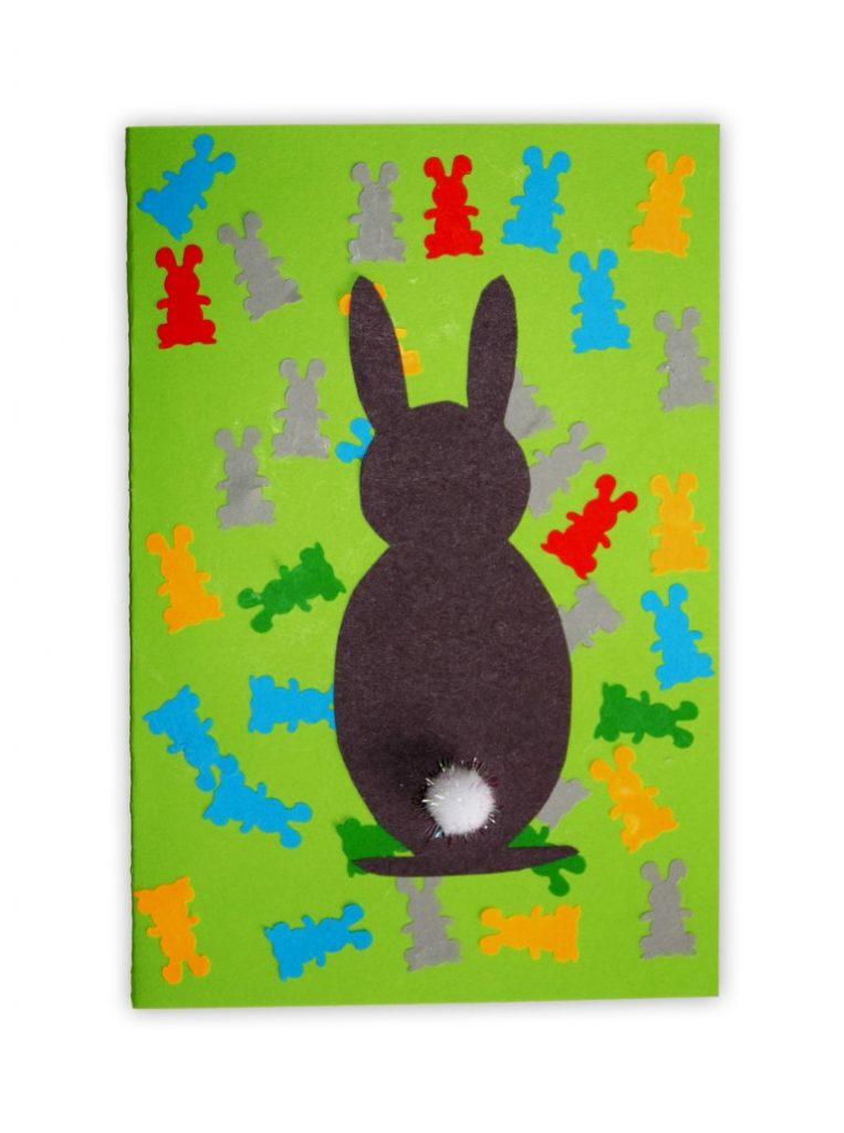Zdjęcie przedstawia przesłaną kartkę konkursową na Konkurs Wielkanocny 2021 w kategorii dzieci 5 - 6 lat autorstwa T. Ksawery