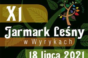 Banner XI Jarmark Leśny w Wyrykach